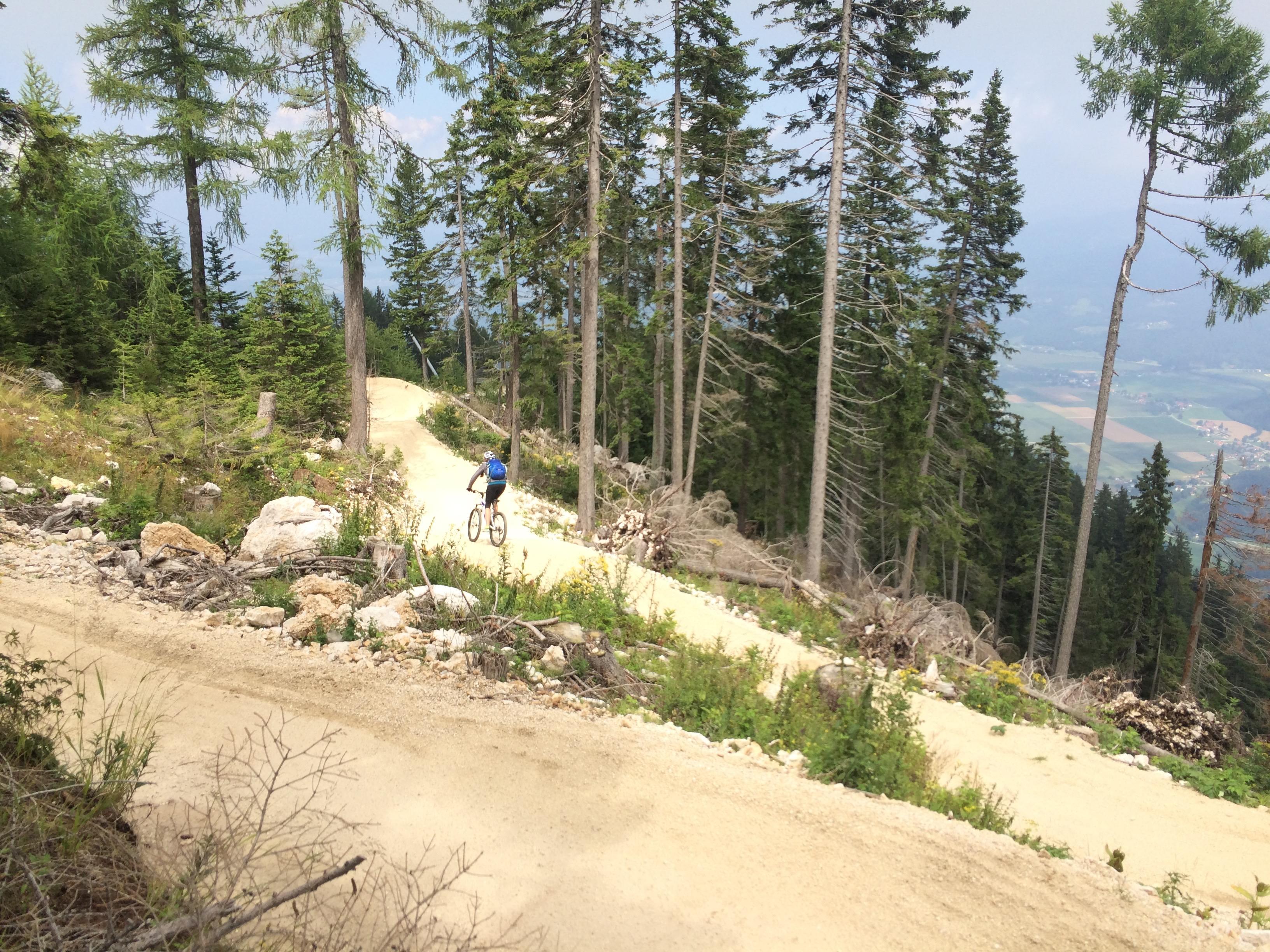 mountainbike strecke petzen