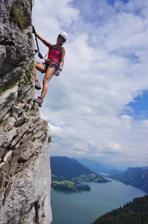 Mondsee climbing