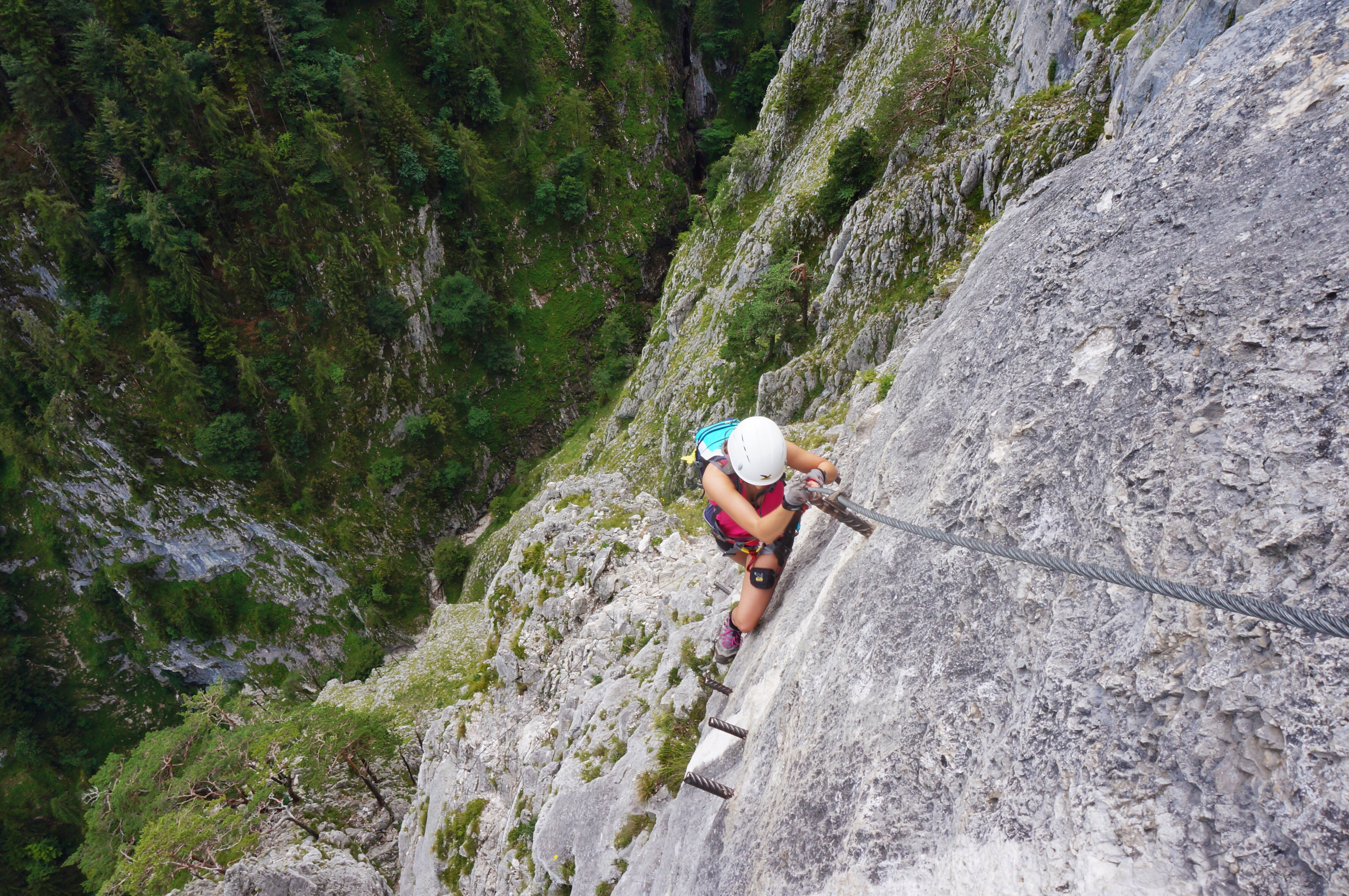 via ferrata Drachenwand