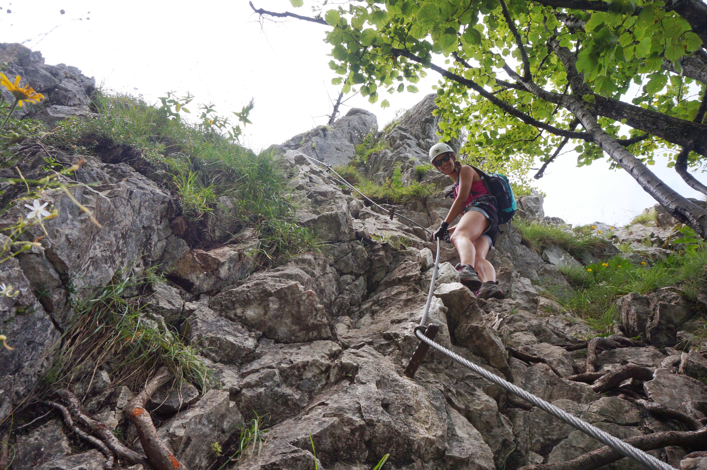 Klettersteig Mondsee : Abendteuer drachenwand u klettersteig in mondsee
