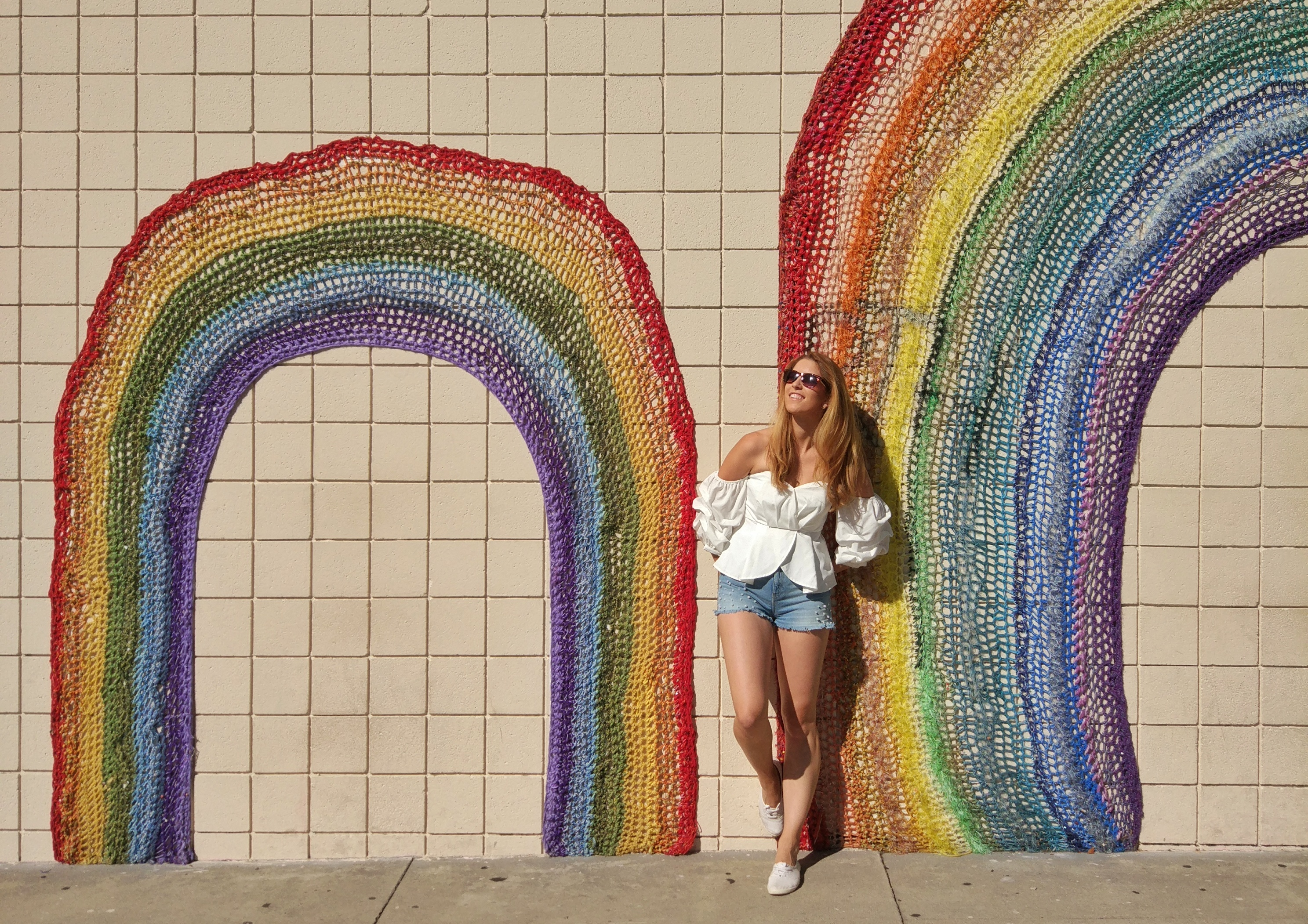 Rainbow Wall Los Angeles