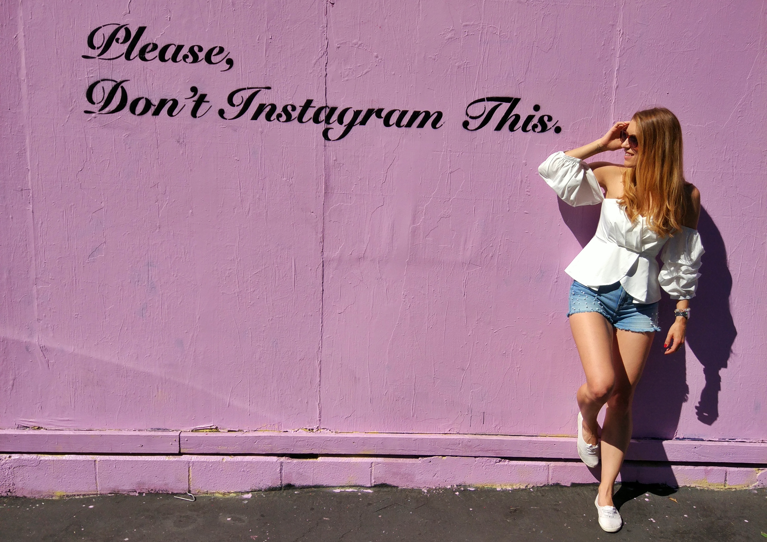 Please don't instagram this wall